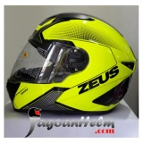 Review Zeus Helm Zs811 Fluo Yellow Al6 Black Di Indonesia
