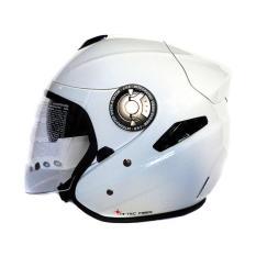 Zeus ZS-608 Helm Half Face - Putih