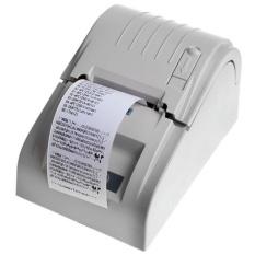 ZJ-5890T 58 Mm Thermal Pencetak Kwitansi Thermal USB Printer POS Printer AU Plug Wh-Intl
