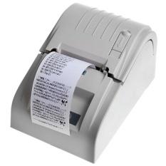 ZJ-5890T 58 Mm Thermal Pencetak Kwitansi Thermal USB Printer POS Printer Uni Eropa Plug Wh-Intl