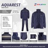 Promo Zoleka Jaket Jas Hujan Aquarest Stripe Xxl Not Specified Terbaru