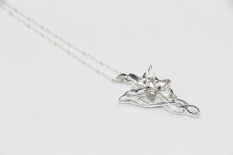 Top 10 Zrm Fashion Arwen Evenstar Kalung Para Elf Princess Crystal Silver Cubic Zirconia Stone Pendant Perhiasan Untuk Wanita Hadiah Intl Online