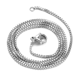 Beli Zuncle Sederhana Korea Fashion Titanium Steel Necklace Silver Lengkap