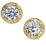 Harga Zuncle Swiss Impor Bintang Berlian Aaa Zircon Women Wild Flower Earrings Golden Zuncle Baru