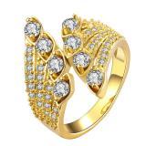 Jual Zuncle Wanita 18 Kb Berlapis Emas Cincin Berlian Queen Gold Ukuran Us 8 Lengkap