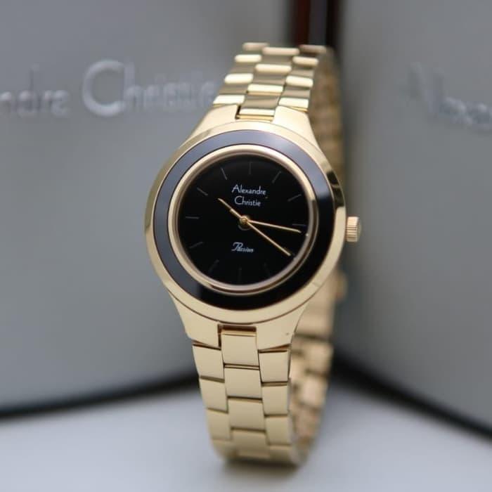 jam tangan alexandre christie original / terbaru jam tangan wanita alexandre christie / jam tangan wanita alexander cristie original ac2821 blue rosegold / jam tangan casual wanita