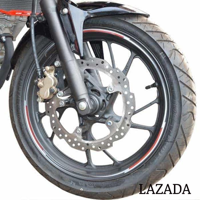 Sticker Velg Wheel Sticker Rgrey CB150R StreetFire K15(871X0K15MRGRE) -