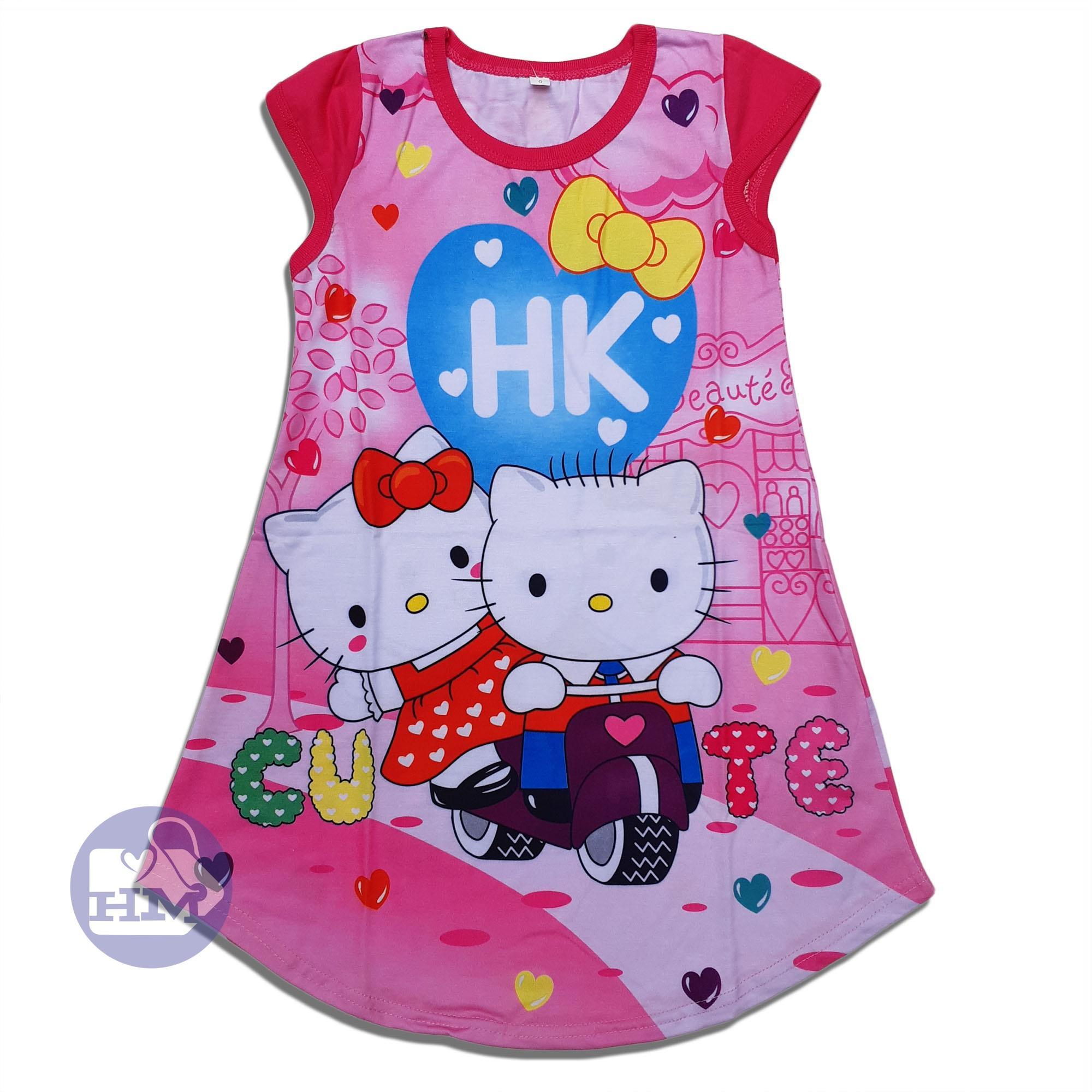 Hm Baju Dress Anak Perempuan Hello Kitty By Hm Shopa Collection.