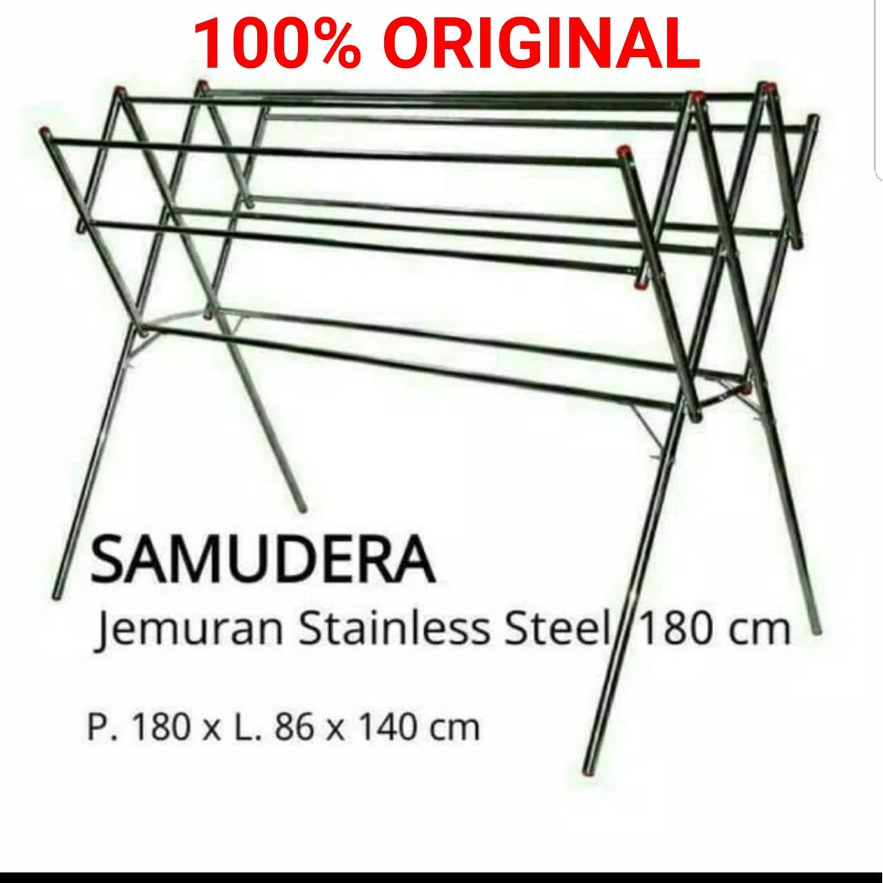 Jemuran Stainless Steel Uk 180 Cm Original Samudera By Furnikita Furniture.
