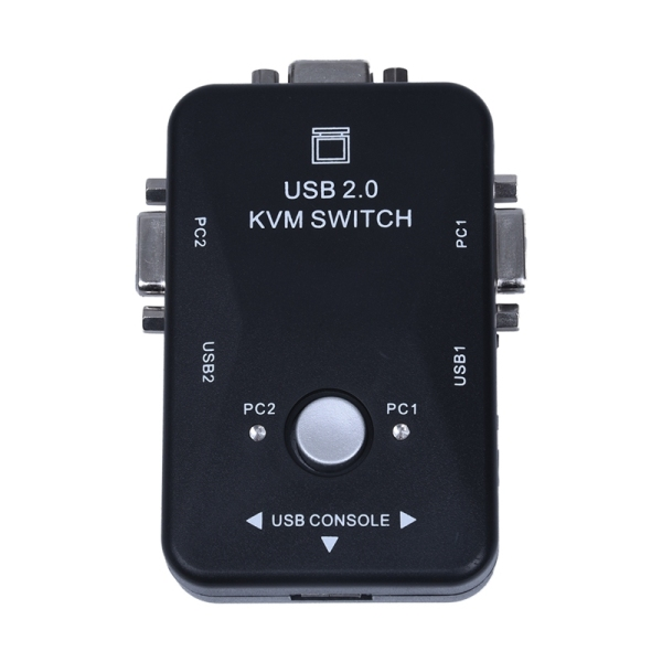 Bảng giá All-in-one Mini 2 Ports KVM Manual Switch Box Adapter w USB Connector Phong Vũ