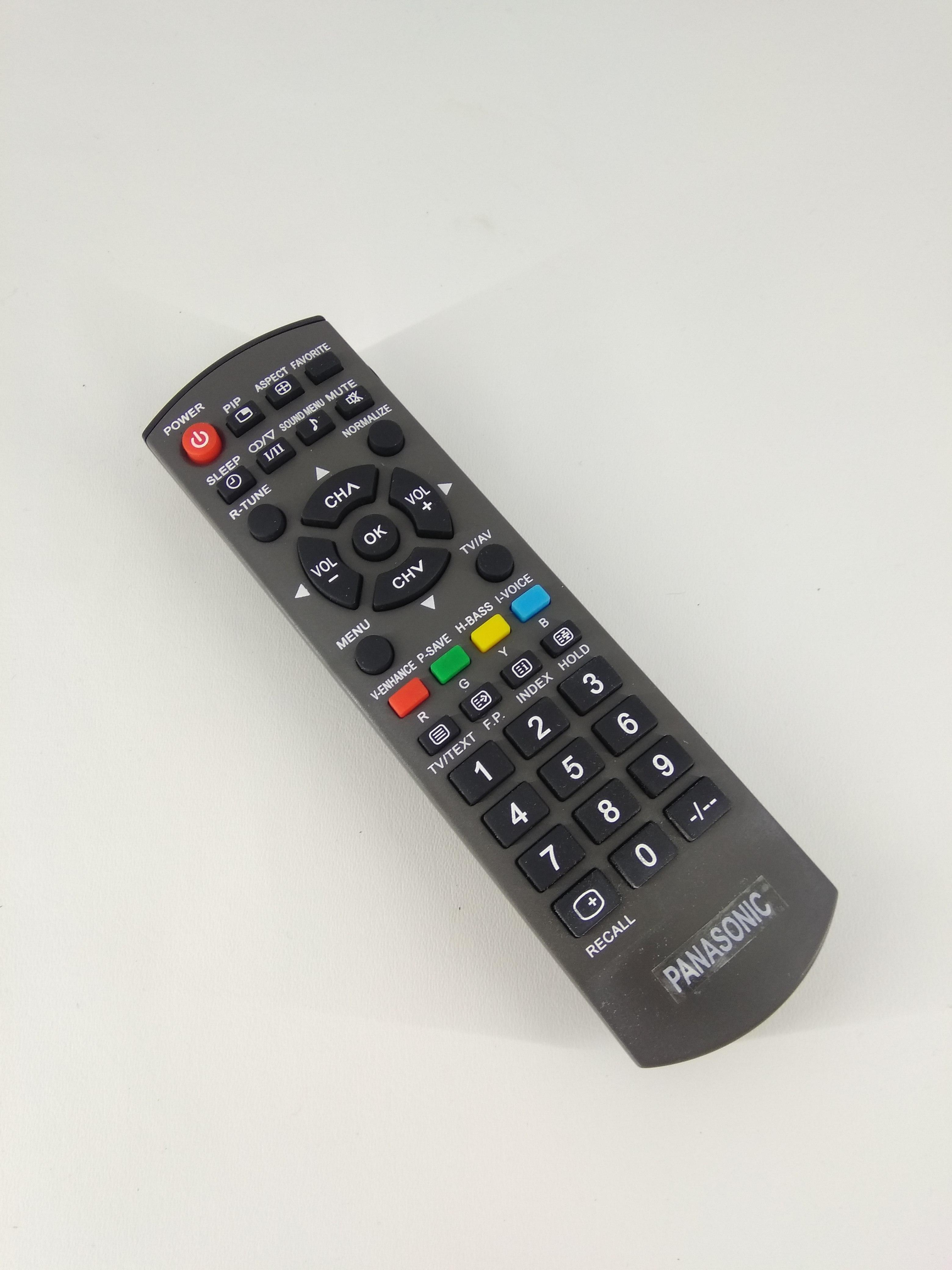 Remot Remote TV Panasonic Viera LCD LED N2QAYB00823 Original Pabrik / KW