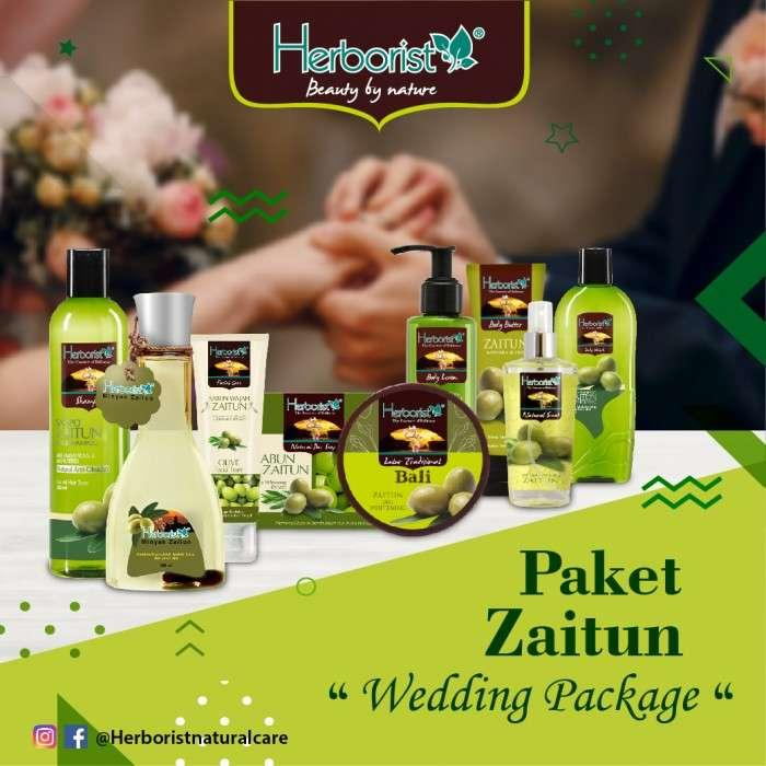 Paket Zaitun Paket Hantaran Pernikahan / Wedding Package / Zaitun Komplit Plus - 9 Pcs By Hafshop.