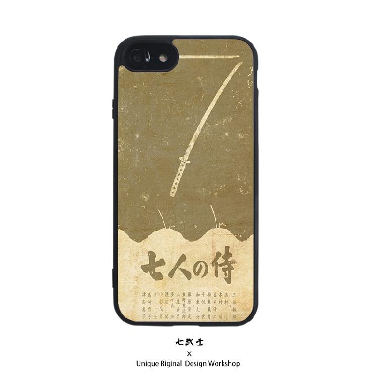 浪客行 Seven Samurai iphoneX Casing HP IPHONE 6 s 7 plus Gaya Jepang 4f1eb359b9
