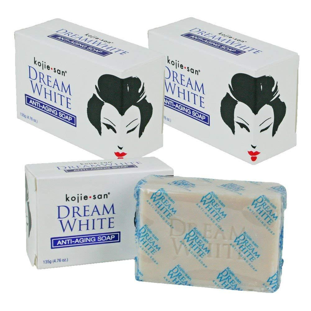 Bisa Bayar Di Tempat (cod) Kojie San Dream White Anti Aging Soap 65 Gr By Rumah-Kosmetik.