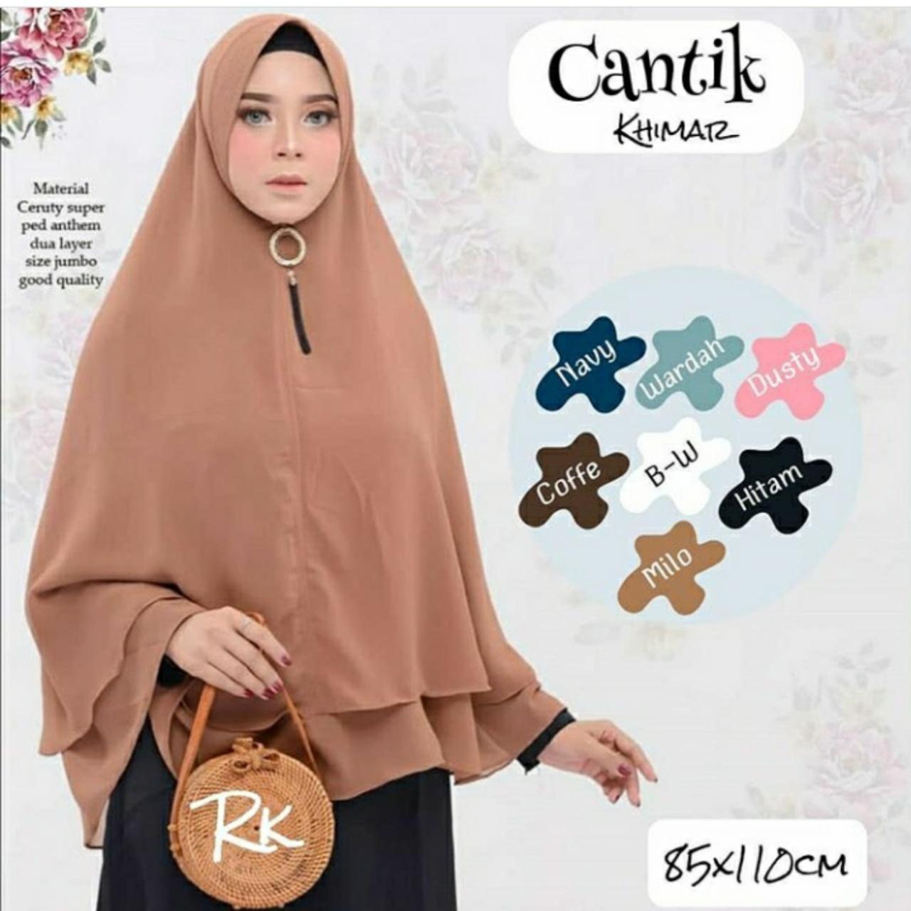 TF PROMO Bisa Bayar di Tempat Jilbab Murah Khimar Cantik Hijab Instan Mewah Kerudung Instan Khimar Instan