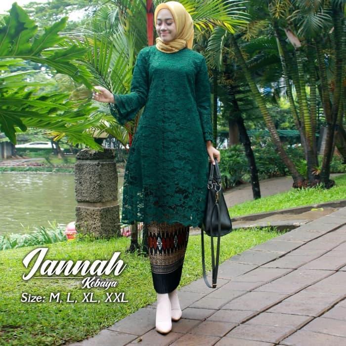 Kebaya Modern Setelan Kebaya Brukat Kinanti kebaya kurung kebaya batik wanita set rok plisket