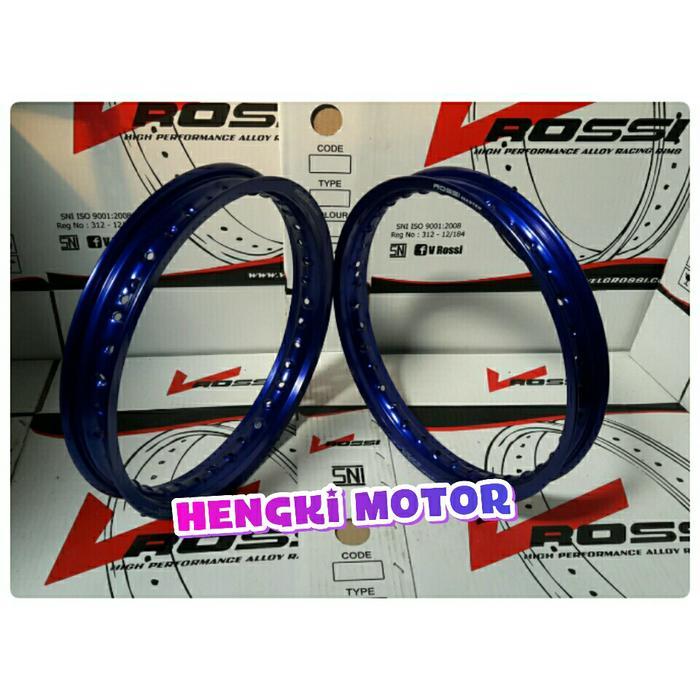 Velg Motor Variasi V Rossi Ring 14 Warna Biru