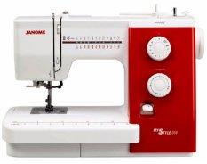 Kualitas Janome Mystyle 500 Mesin Jahit Multifungsi Putih Merah Janome