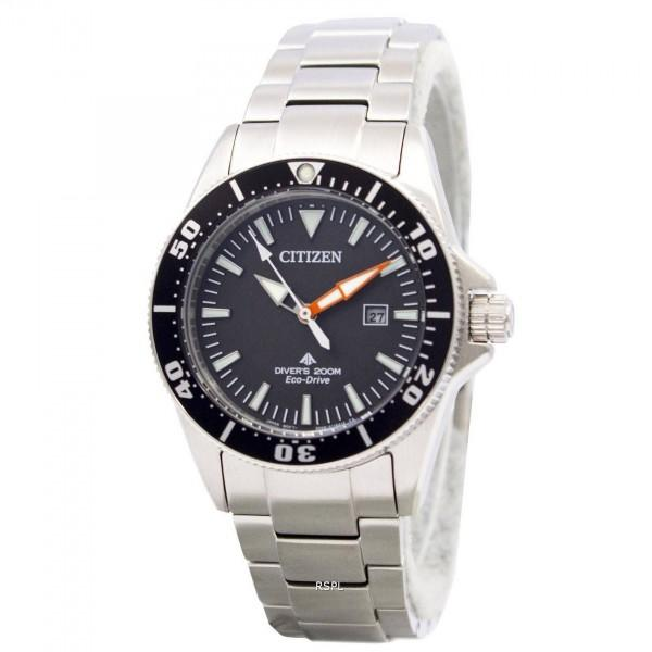 CITIZEN - Jam Tangan Wanita - Silver-Hitam - Stainless Steel - CT EP6040-53E NEW ECO DRIVE