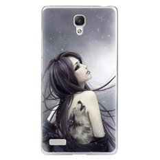 Max Back Hardcover Cute Korean Picture for Xiaomi Redmi Note - Anime Girl
