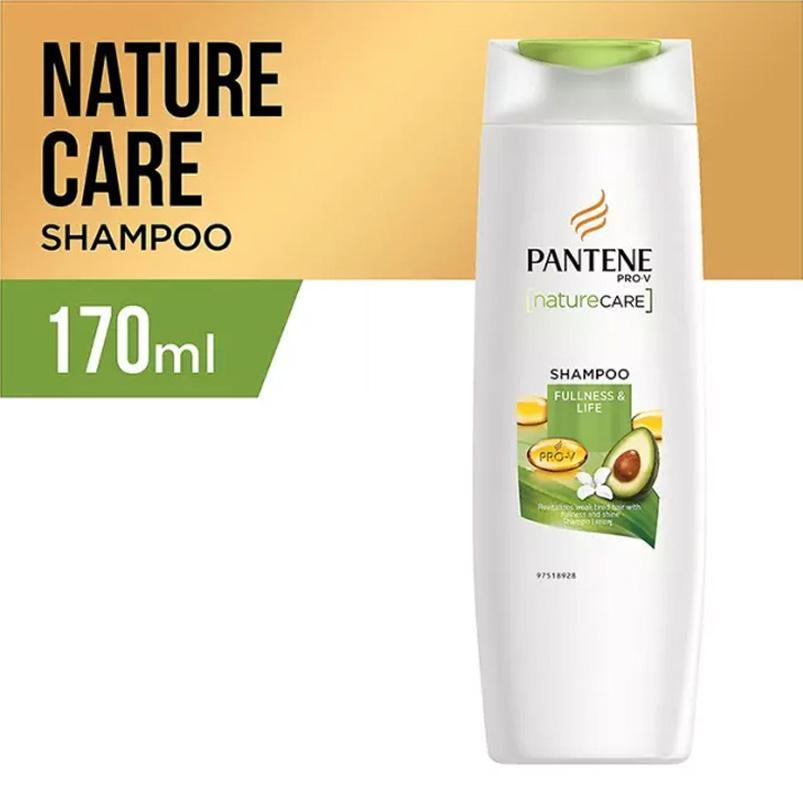 Pantene Sampo Nature Care Fullness & Life - 170ml By Lazada Retail Pantene.