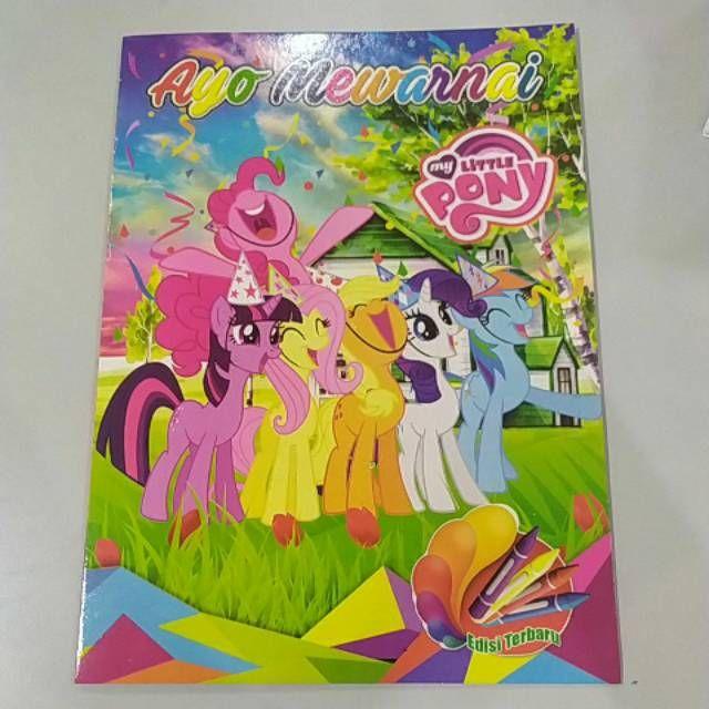 1pck Buku Mewarnai Kuda Poni Isi 5 Pcs Lazada Indonesia
