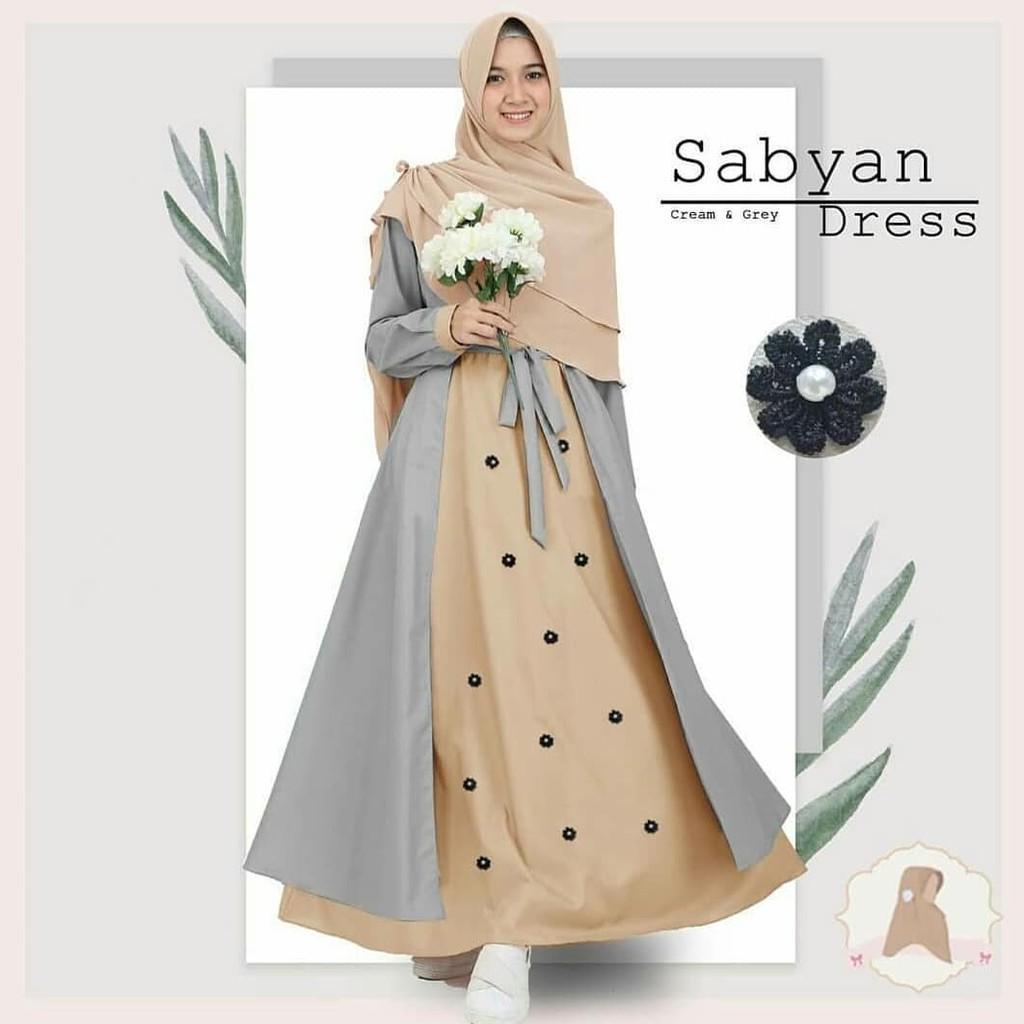 LGNZ Sabyan Dress / Fashion Muslim / Gamis Terlaris MPS HBO 044