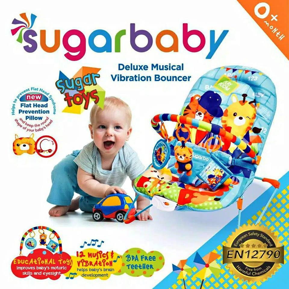 Sugar Baby Bouncer My Toys By Haikal Babyshop.
