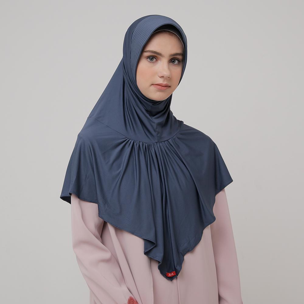 Kerudung Zoya Jilbab Instan - Kalila Nalanie | HEIQ Tech