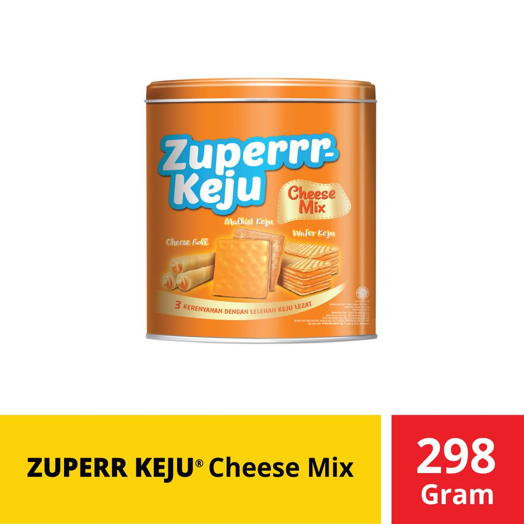 Zuperrr Keju Cheese Mix 298 Gr By Mayora Official Store.