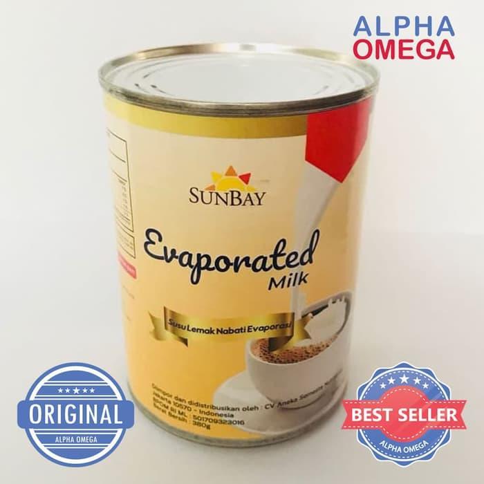 Susu Sunbay Evaporated 380 Gram By Alphaomega Shop.