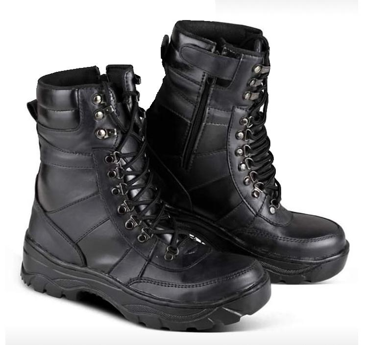 Sepatu Boots Pdl Safety Tni 9inc Motec Terlaris By Motec Shoes.