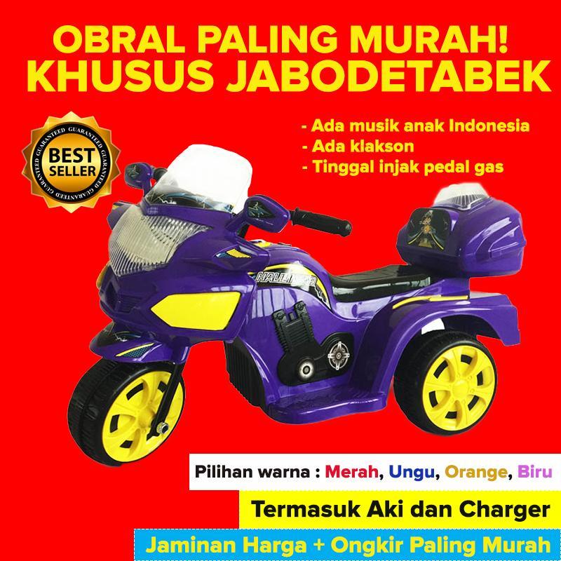 Mainan Motor Aki   Mainan Anak Motor Aki   Khusus Jabodetabek   Ride On  Halilintar   0360515fcd