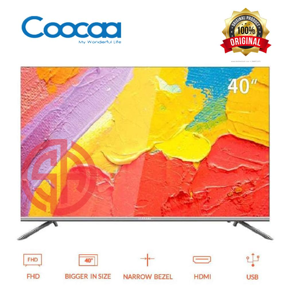 COOCAA LED TV 40 inch Android Smart TV - Wifi - Full HD - Slim - Infinity View (Model : 40S5G)