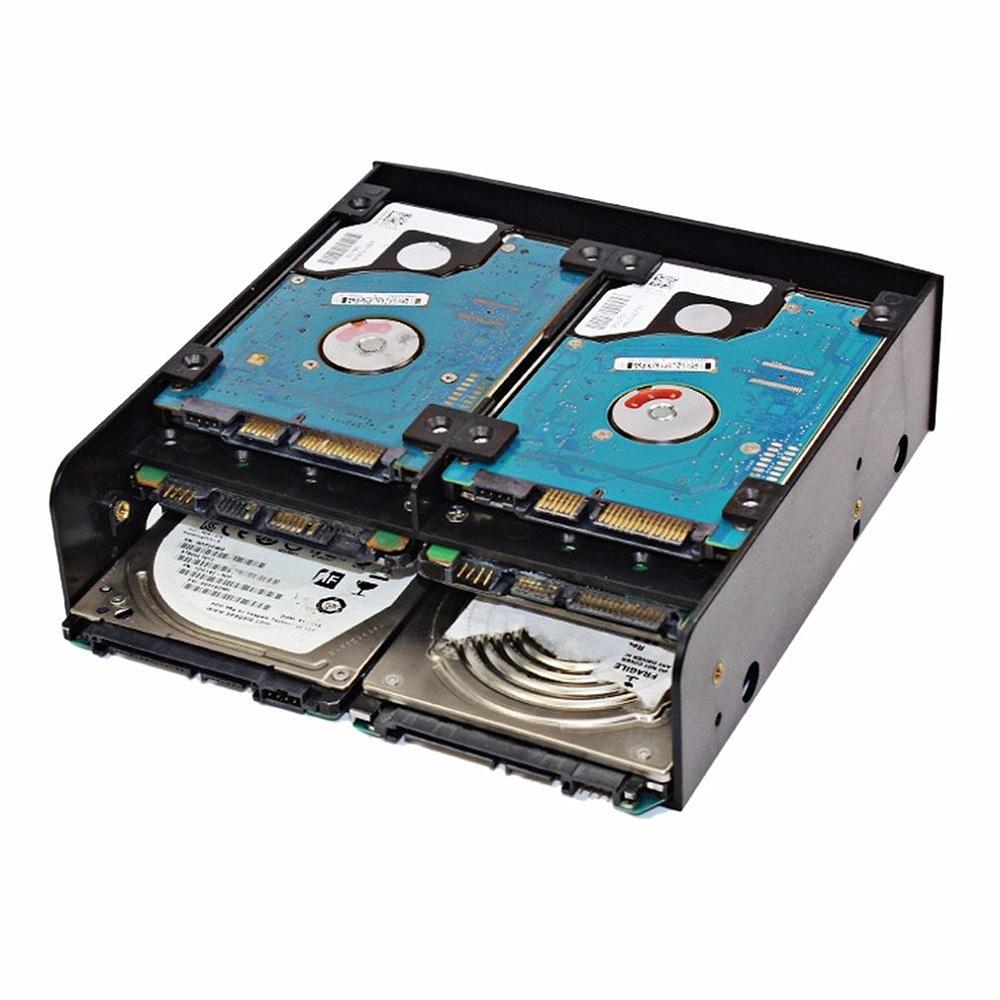 Oimaster Multi-Functional Hard Drive Conversion Rack Standard 5.25 Inch Device Comes With 2.5 Inch / 3.5 Inch Hdd Mounting Screw By Rainning.