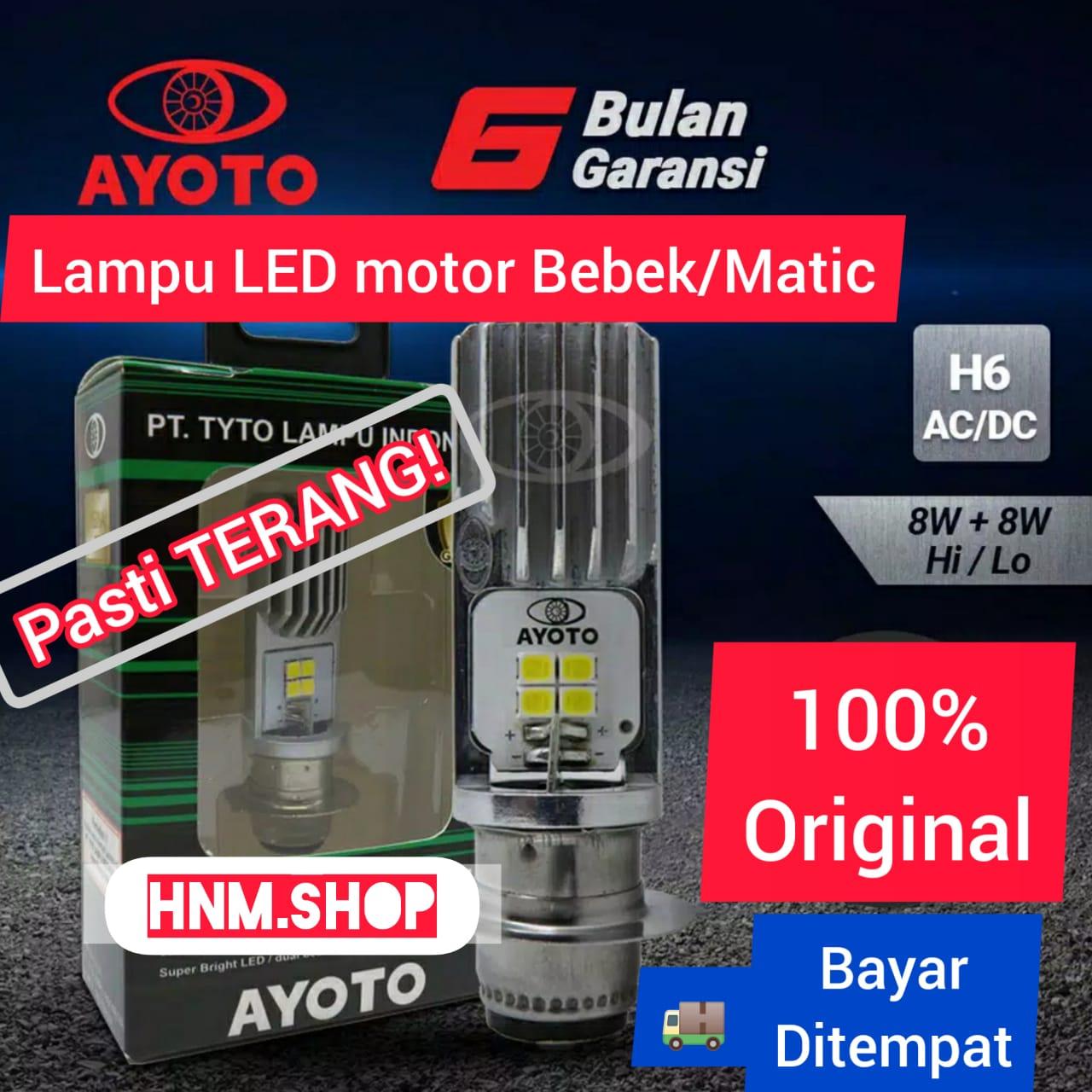 Lampu LED Depan Beat Fi Soul GT Mio M3 Spacy Fino Smash Shogun Jupiter MX Jupiter Z Vega R Vega ZR Supra Mio J Satria FU