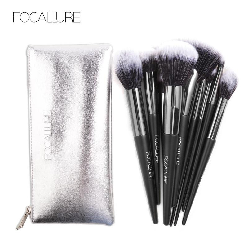 Focallure 10pcs Make Up Brushes Set With Bag Fa70 By Focallure Beauty Id