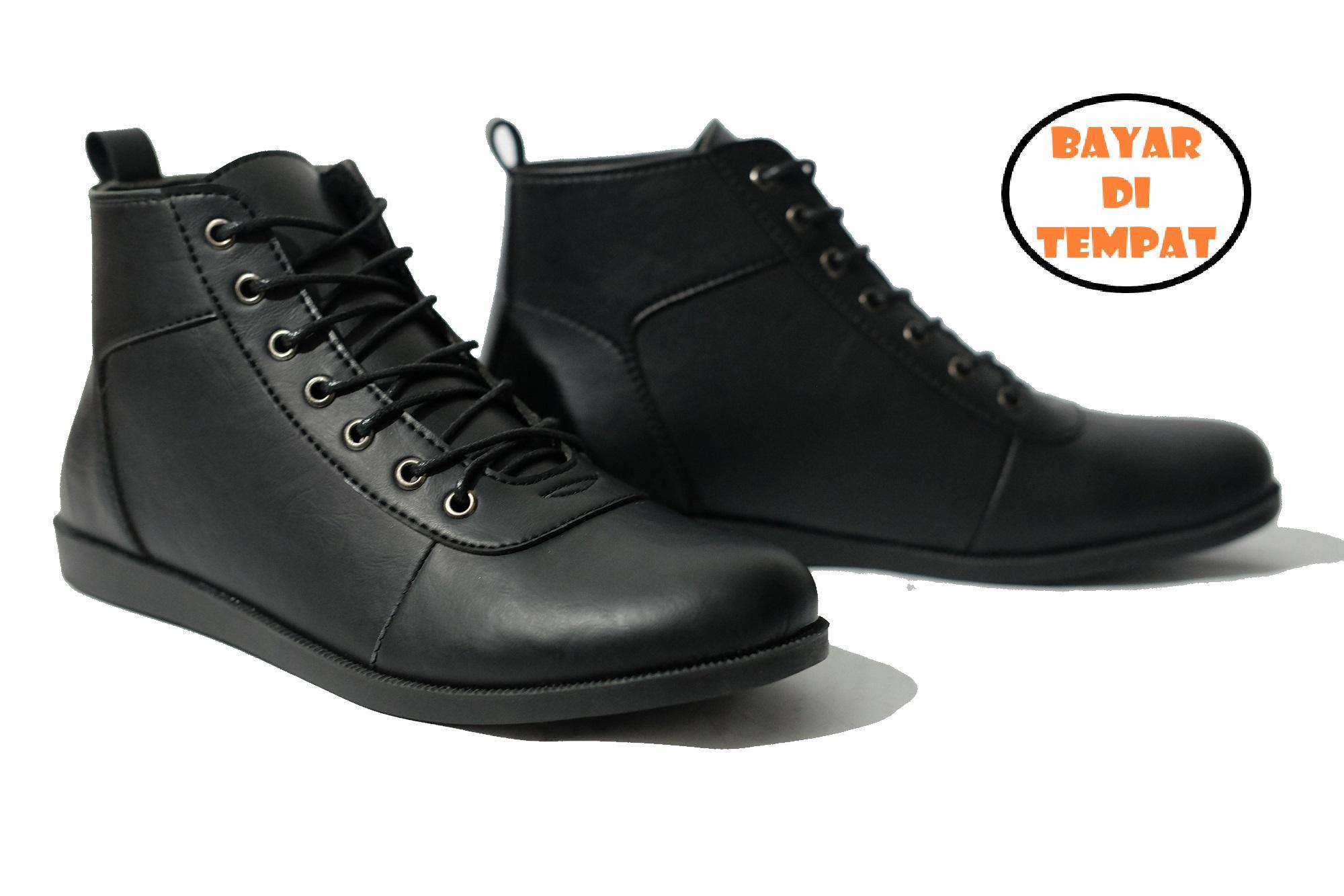 ( COD ) sepatu pantofel kulit pria sepatu kantor pria tali sepatu pesta  kuit formal   89e553862a