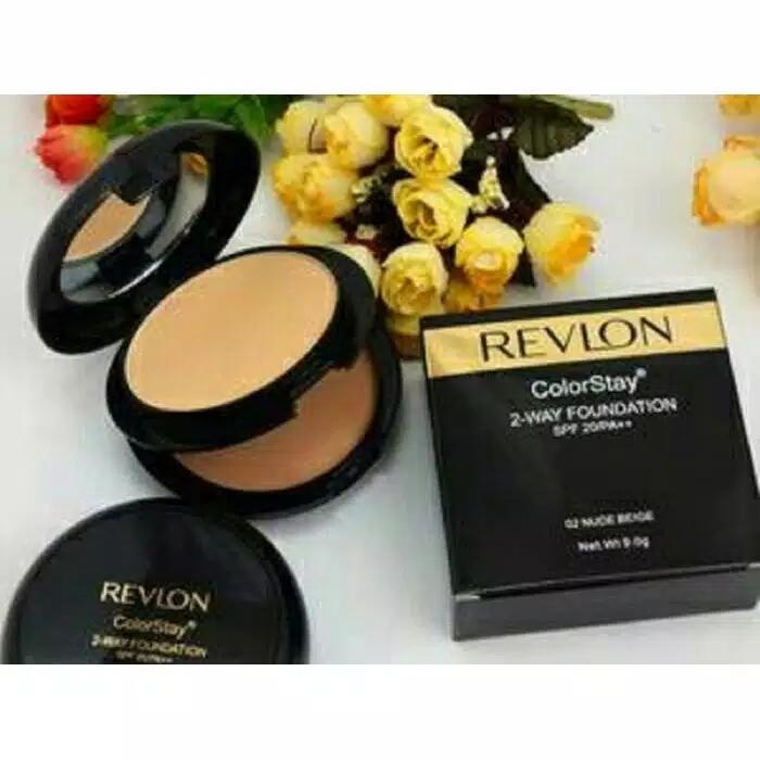 Bedak colorstay 2 way foundation - BEDAK 2 in 1 code:Rv02
