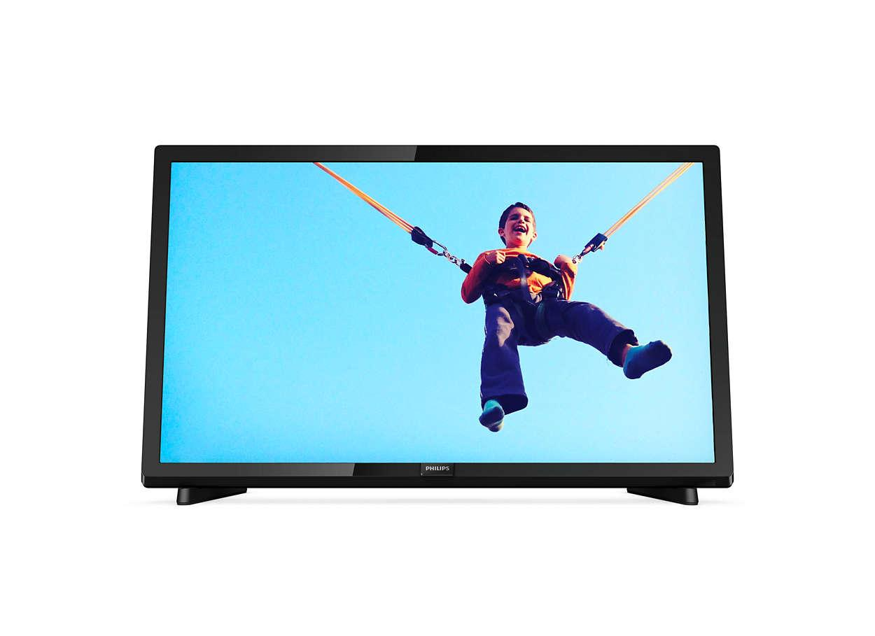 PHILIPS 22PFA5403S/70 [22 INCH] SLIM LED TV - USB MOVIE Full HD