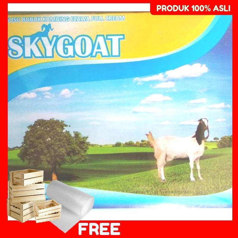 Susu Kambing Skygoat Etawa Bubuk Plus Propolis Rasa Original 1 Box Isi 10 Sachet Asli Termurah
