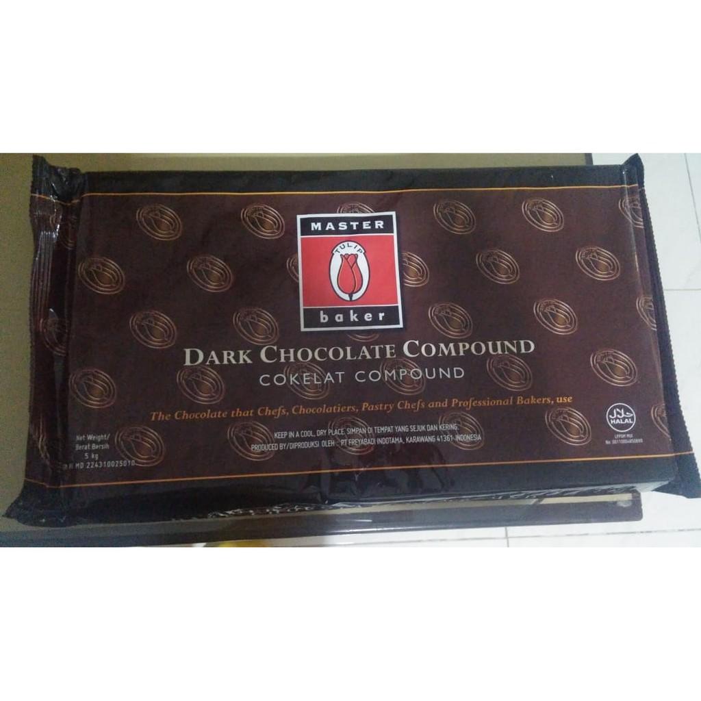 Coklat Batangan Tulip 500 Gr/ Coklat Blok/ Coklat DCC/ Coklat Compound/ Coklat Tulip/ Coklat Batang