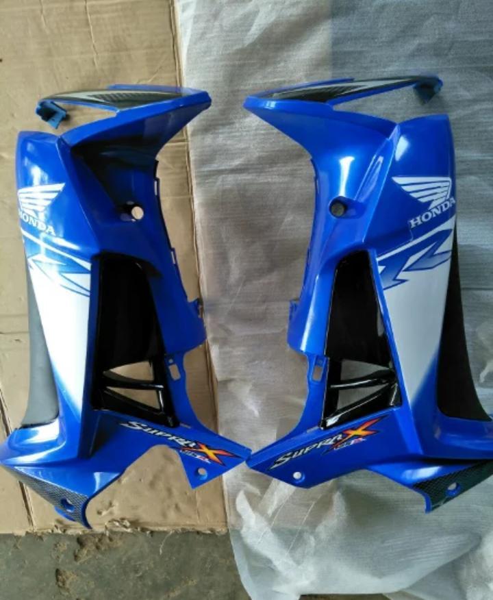 sayap honda supra x 125 set lampu sen kanan kiri
