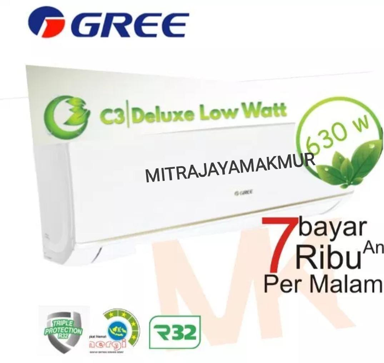 AC GREE 1PK GWC 09C3 LOW WATT (630 watt)