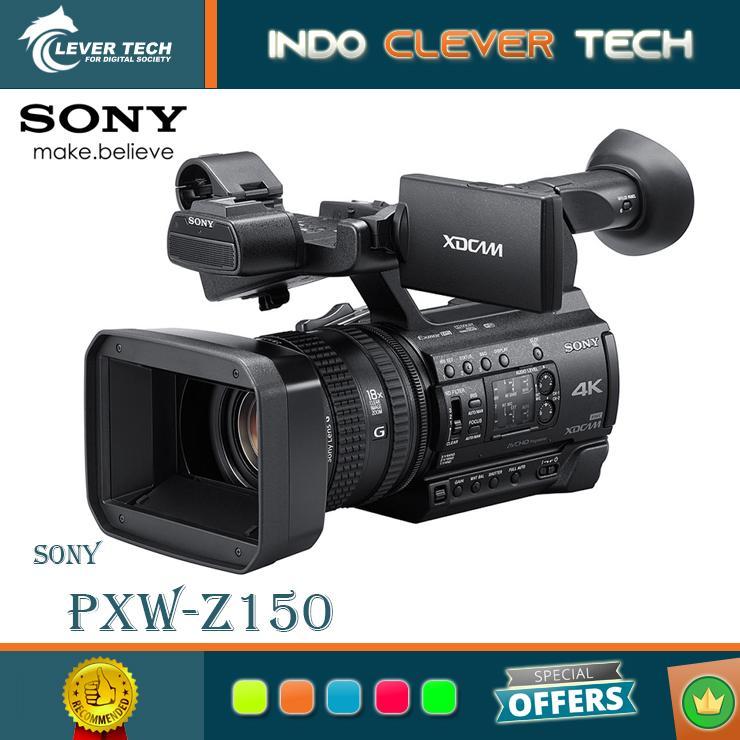 Sony PXW-Z150 Professional Video Camcorder - Garansi Resmi Sony