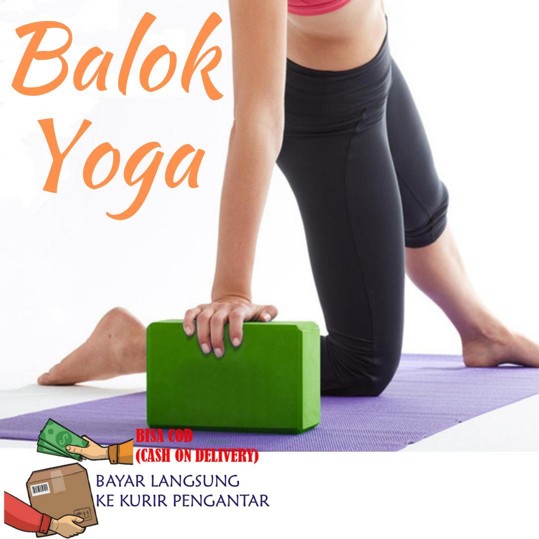 Balok Yoga / Yoga Brick Yoga Block / Perlengkapan Yoga By Antarestar.