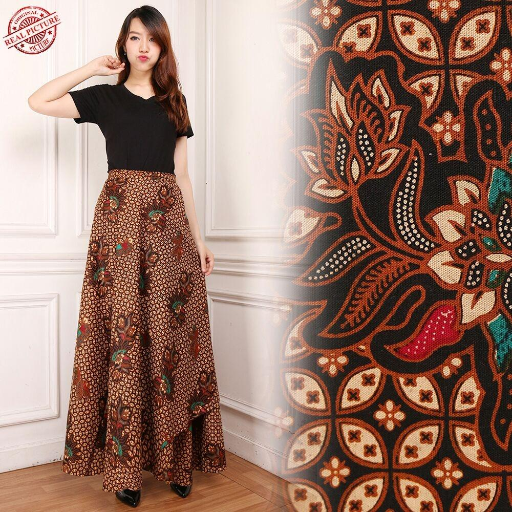 CJ collection Rok lilit maxi payung panjang wanita jumbo long skirt Sandrina