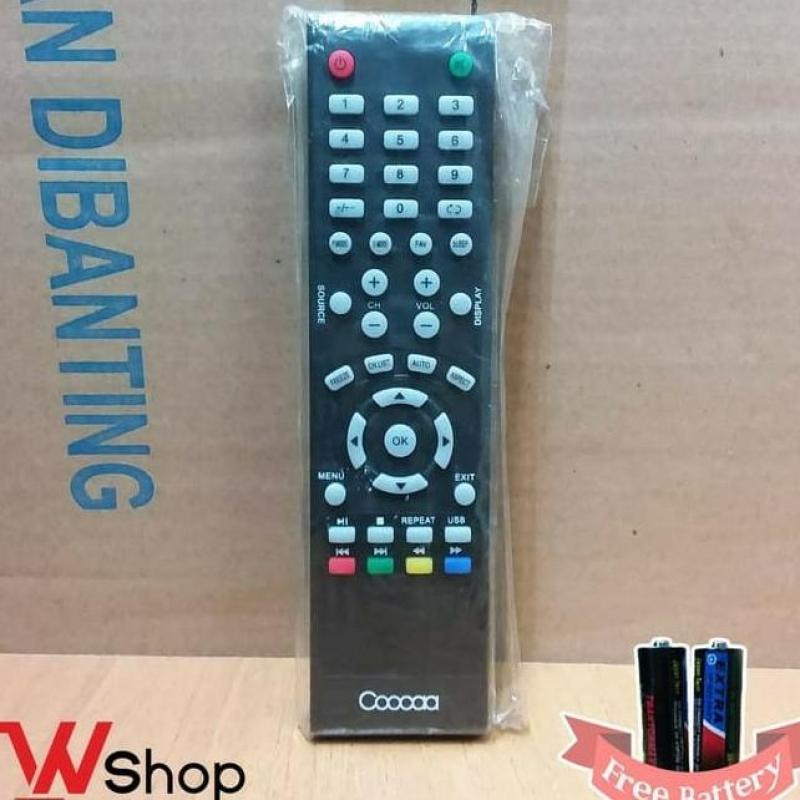 REMOT TV LCD/LED COOCAA ORIGINAL