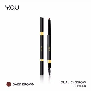 YOU Basic Collection Dual Eyebrow Styler [ Precise Brow Definer Natural Pigment Brow] - Dark Brown Eyebrow Styler you Eyebrow Styler recommended thumbnail