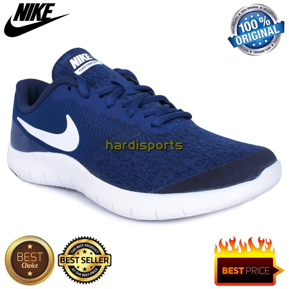 Sepatu Running Anak Nike Flex Contact (GS) 917932-400 - Blue 522f8697fd
